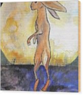 The Rabbit Prince Wood Print