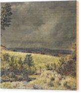 The Rainbow, 1858 Wood Print