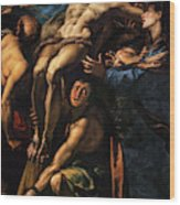 The Raising Of The Cross, 1620 Wood Print