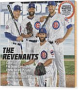 The Revenants, 2016 Mlb Baseball Preview Issue Sports Illustrated Cover Wood Print