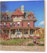 The Rittenhouse Inn Wood Print