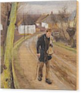 The Road Through The Village Of Ring Wood Print