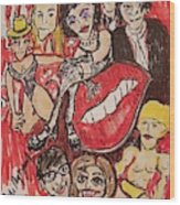 The Rocky Horror Picture Show Wood Print
