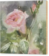 The Rose From A Misty Appalachia Wood Print