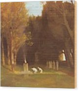 The Sacred Grove 1886 Wood Print