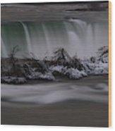 The Silky Horseshoe Falls Wood Print