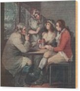 The Soldiers Return, C18th Century 1909 Wood Print