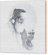 The Spirit Of Christmas Vignette Wood Print