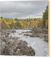 The St Louis River Wood Print