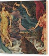The Storm Spirits, 1900 Wood Print
