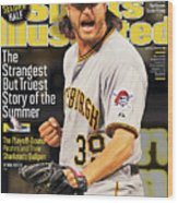 The Strangest But Truest Story Of The Summer Baseball 2013 Sports Illustrated Cover Wood Print