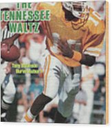 The Tennessee Waltz Tony Robinson Buries Auburn Sports Illustrated Cover Wood Print