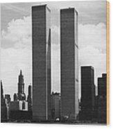 The Twin Towers Wood Print