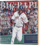 The Ultimate Walk-off David Ortiz Says Goodbye Sports Illustrated Cover Wood Print
