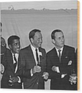 The Usual Rat Pack Wood Print
