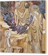 The Vision Of Saint Catherine Wood Print