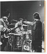 The Who At The Fillmore East Wood Print