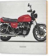 The Yamaha Xs1100 Wood Print