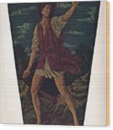 The Youthful David Wood Print