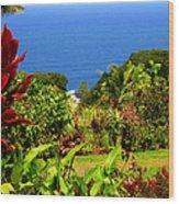 There Is A Paradise - Maui Hawaii Wood Print