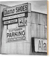 These Shoes Alamo Shoes Wood Print