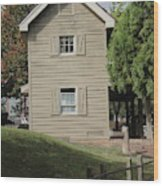 This Not Old House  Wood Print