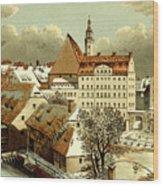 Thomasschule In Leipzig Wood Print