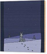 Three Dog Night Wood Print