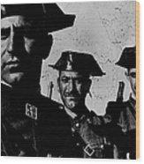 Three Members Of Dictator Francos Feare Wood Print