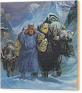 Tibet Wood Print