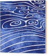 Tide Xvi Wood Print