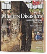 Tiger Woods, 2007 Masters Sports Illustrated Cover Wood Print