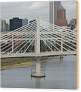 Tilikum Crossing, Portland, Oregon, Usa Wood Print