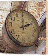 Time Stood Still 1 Wood Print
