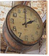 Time Stood Still 2 Wood Print