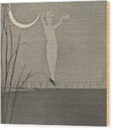 Titelblatt From The Series Radierte Skizzen Wood Print