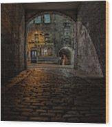 Tolbooth Tavern Wood Print