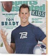 Tom Brady Sports Illustrated Cover Wood Print