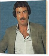 Tom Selleck, Actor Wood Print