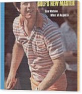 Tom Watson, 1977 Masters Sports Illustrated Cover Wood Print