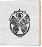 Tomrrowland Wood Print