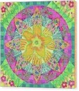 Tom's Squash Blossom Wood Print