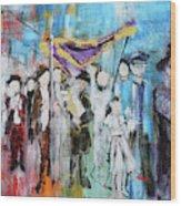 Torah Dedication Alexandria 2 201905 Wood Print