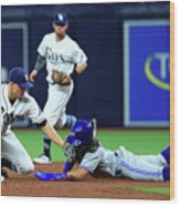 Toronto Blue Jays V Tampa Bay Rays Wood Print