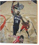 Toronto Raptors V New Orleans Pelicans Wood Print