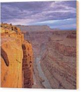 Toroweap Overlook Cliff Wood Print