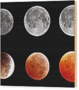 Total Eclipse Of Heart Sequence Wood Print