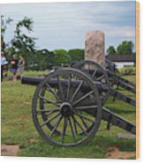 Touring The Gettysburg Battlefield Wood Print