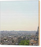 Tower Eiffel Wood Print