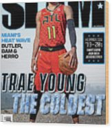 Trae Young: The Coldest SLAM Cover Wood Print